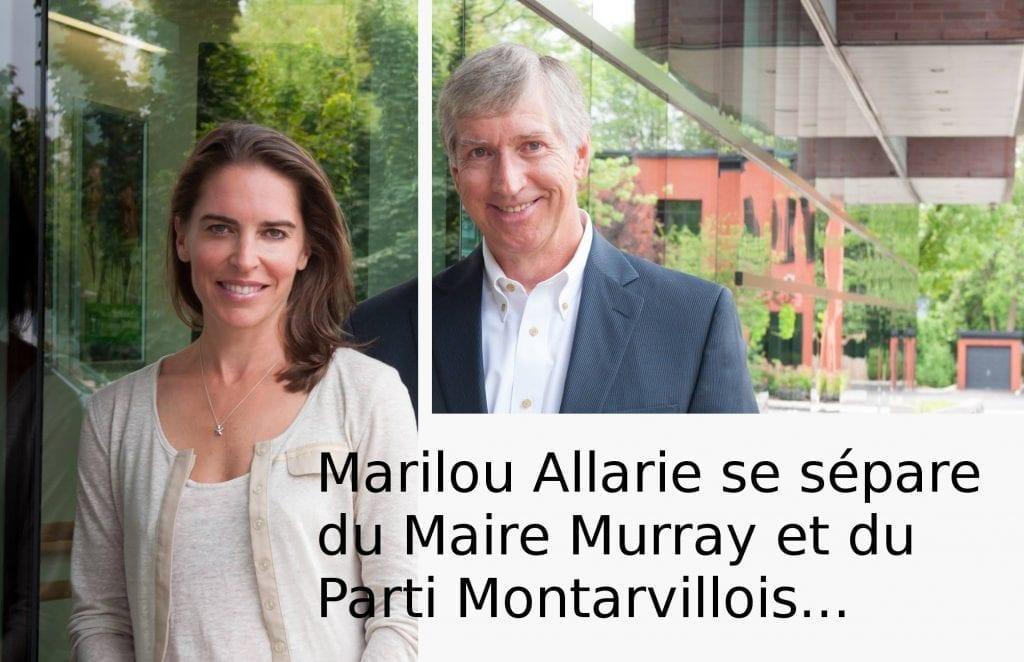La conseillère Marilou Alarie quitte le Parti Montarvillois