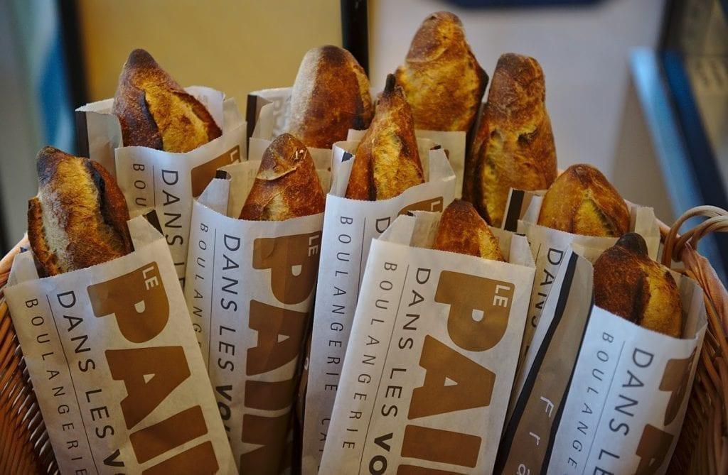 Le pain dans les voiles