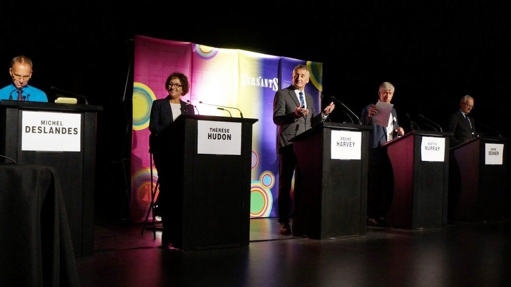 Le débat des candidats à la mairie de Saint-Bruno