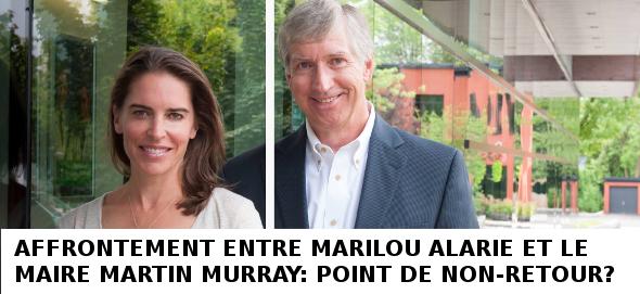 Cérémonie d'assermentation : Marilou Alarie répond au Maire Murray