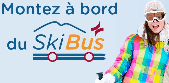Utilisateurs du Skibus: Rabais de 50% sur les billets à Ski Saint-Bruno