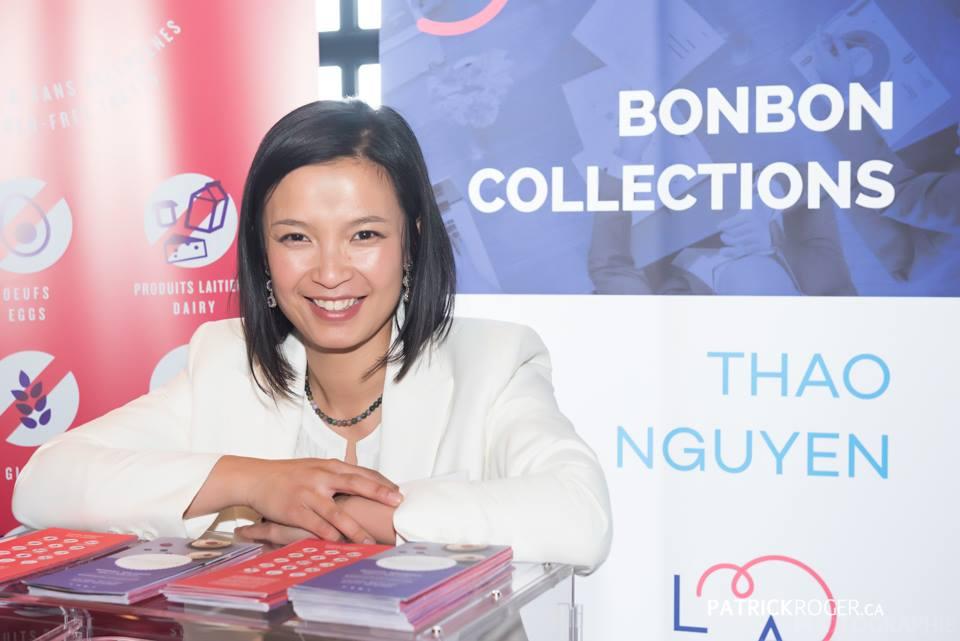 Thao Nguyen fondatrice de Bonbon Collections remporte le prix coup de coeur du concours LADN Montérégie