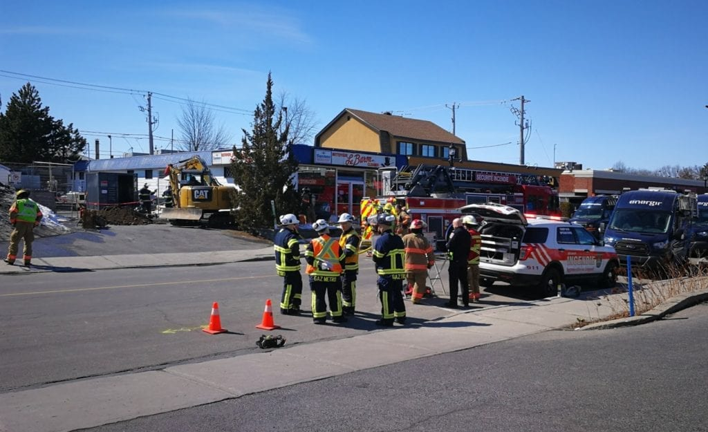 Fuite de gaz: évacuation sur Montarville