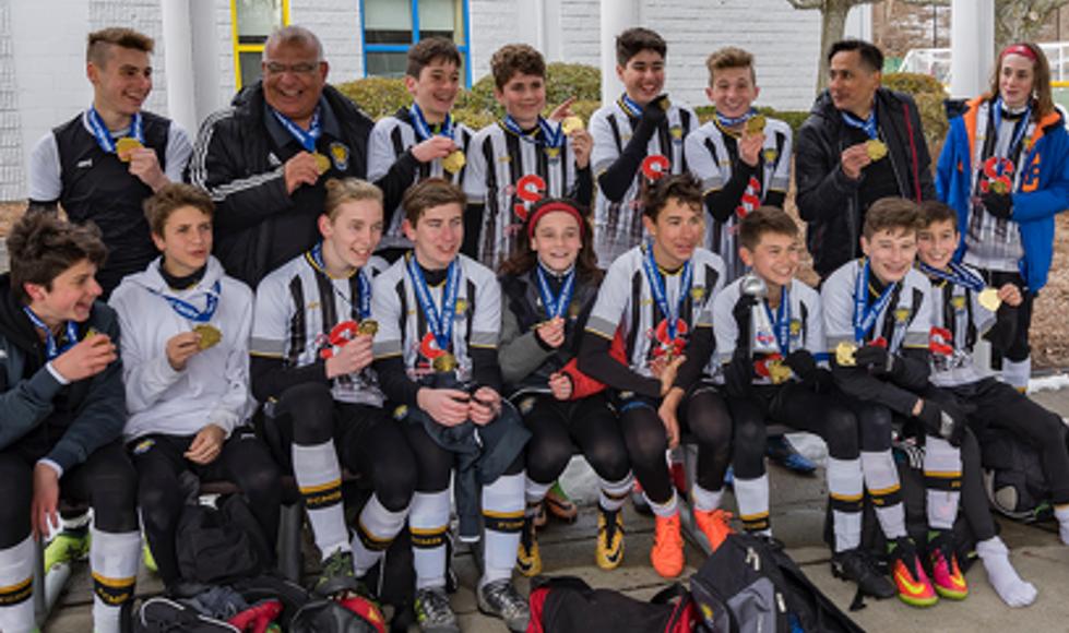 Soccer: Excellentes performances pour les équipes U13M AA et U14M AA du FC Mont-Bruno à Boston!