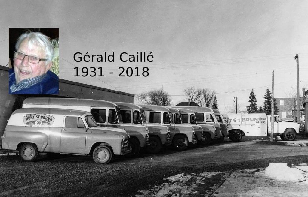 Gérald Caillé: Décès d'un pionnier