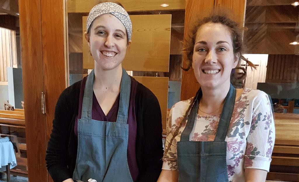 """Cuisine collective au Centre d'action bénévole """"Les p'tits bonheurs"""""""