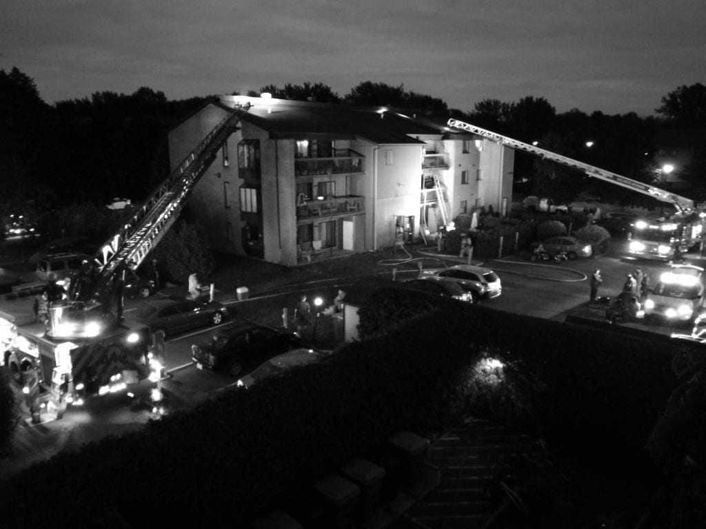 Important incendie cette nuit à Saint-Bruno