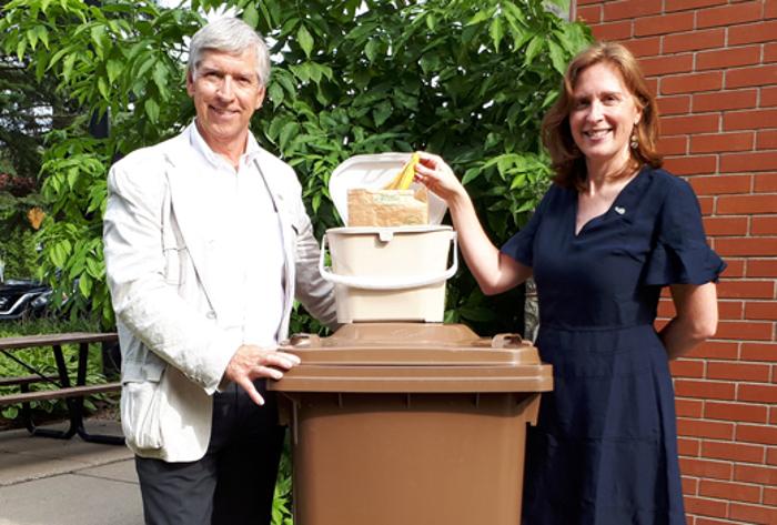 Collecte des matières organiques à Saint-Bruno: livraison des bacs en octobre et début des collectes en janvier