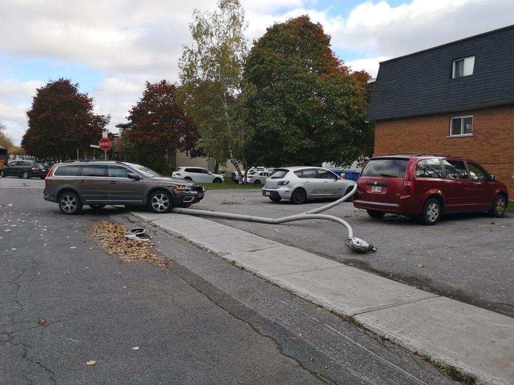 Autre accident dans le centre-ville de Saint-Bruno