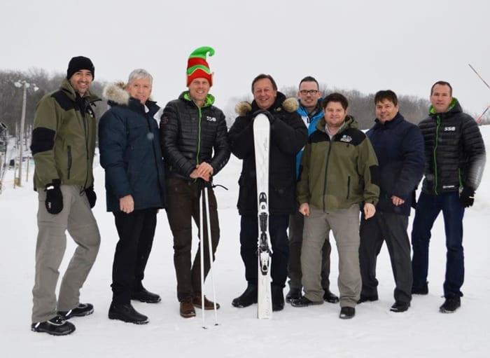 Retour de la navette SkiBus à Saint-Bruno en 2019