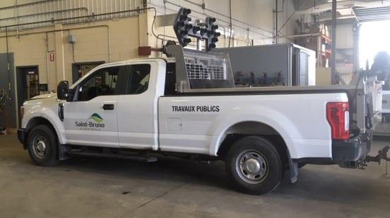 Saint-Bruno: Prêt gratuit d'une camionnette pour le transport des résidus verts