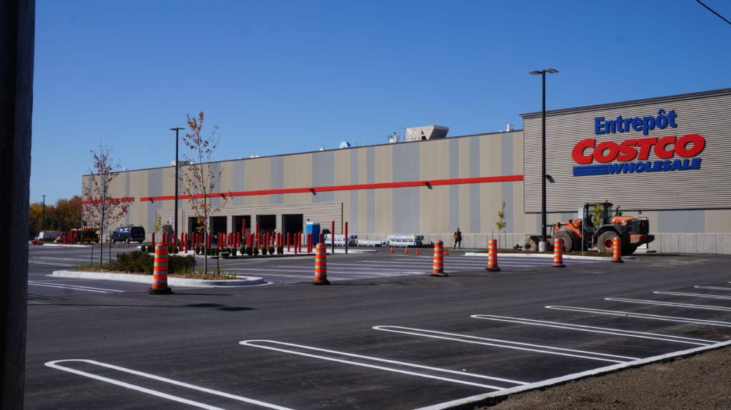 Le COSTCO de Saint-Bruno le plus vert au Canada: plan et  photos