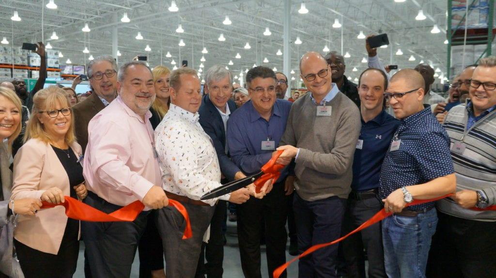 Importante foule à l'ouverture du nouveau COSTCO Saint-Bruno