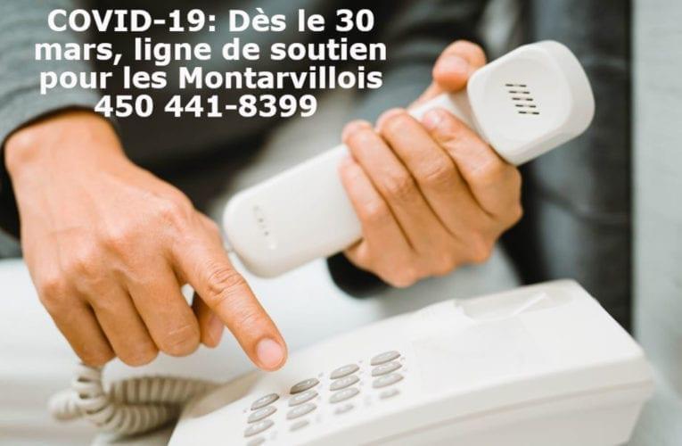 COVID-19: Saint-Bruno-de-Montarville lance une ligne de soutien