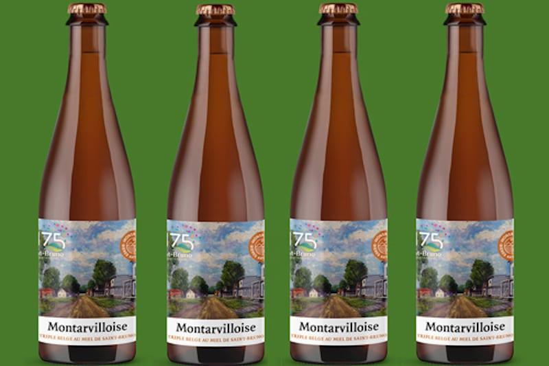 La Montarvilloise, une nouvelle bière pour célébre   le 175e de Saint-Bruno-de-Montarville