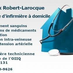 Annick Robert-Larocque, infirmière à domicile