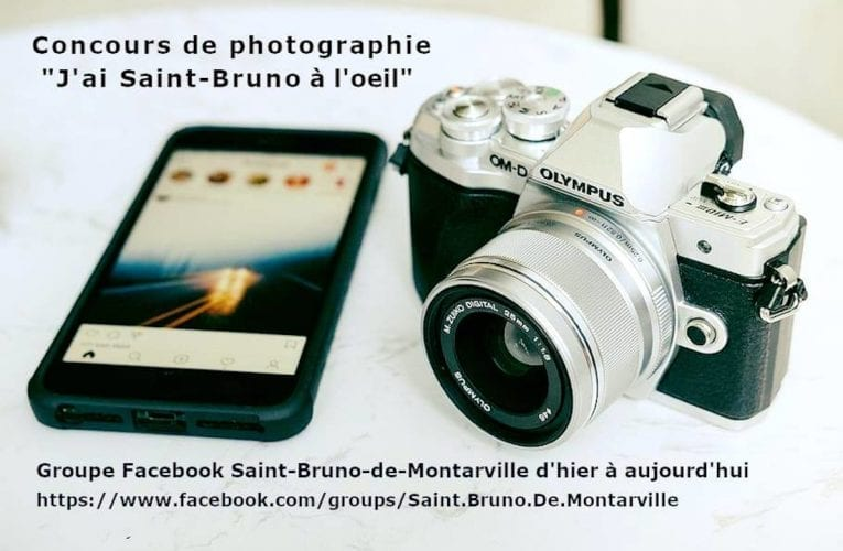 650 $ en prix! Lancement du concours de photographie «J'ai Saint-Bruno à l'oeil»