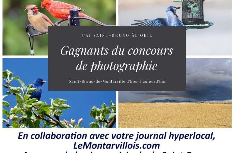 Les gagnants du concours de photo «J'ai Saint-Bruno à l'œil»