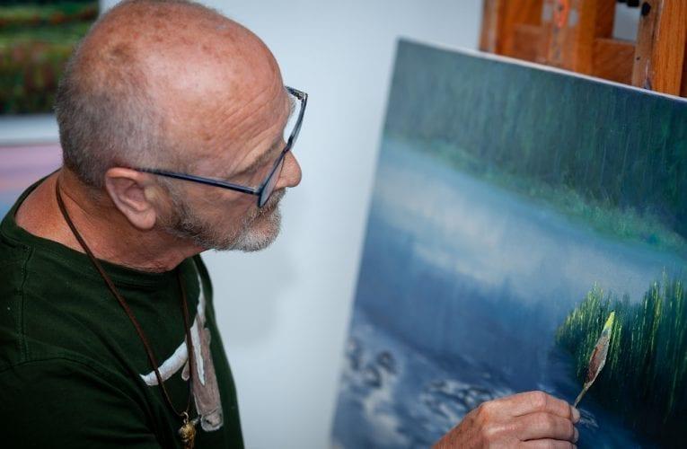 Parlons de… Pierre Duhamel I.A.F –  Artiste peintre de Saint-Bruno