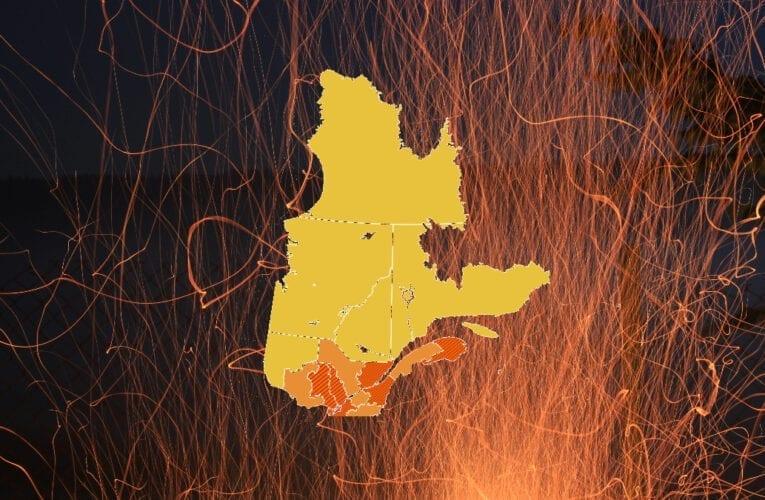 Pandémie: Les Montarvillois et une grande partie de la population du Québec en zone rouge foncé!