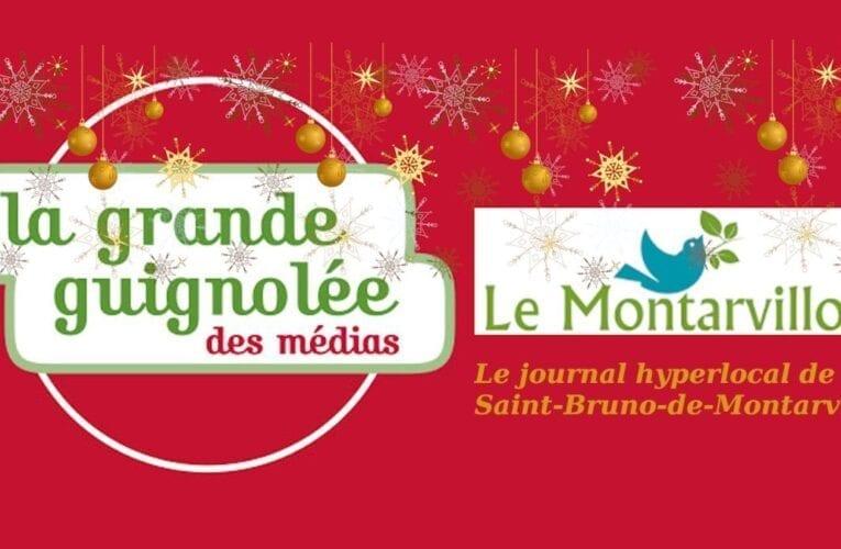 Votre journal, Le Montarvillois, se joint à la Grande Guignolée des médias