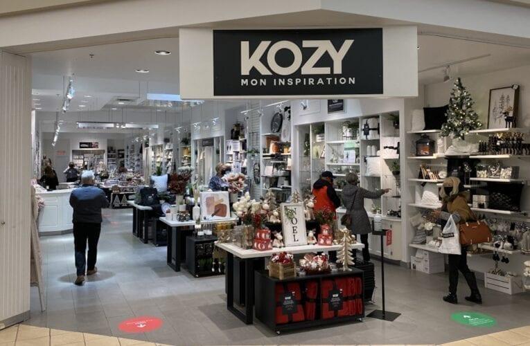 KOZY: une nouvelle boutique de décoration  aux Promenades Saint-Bruno