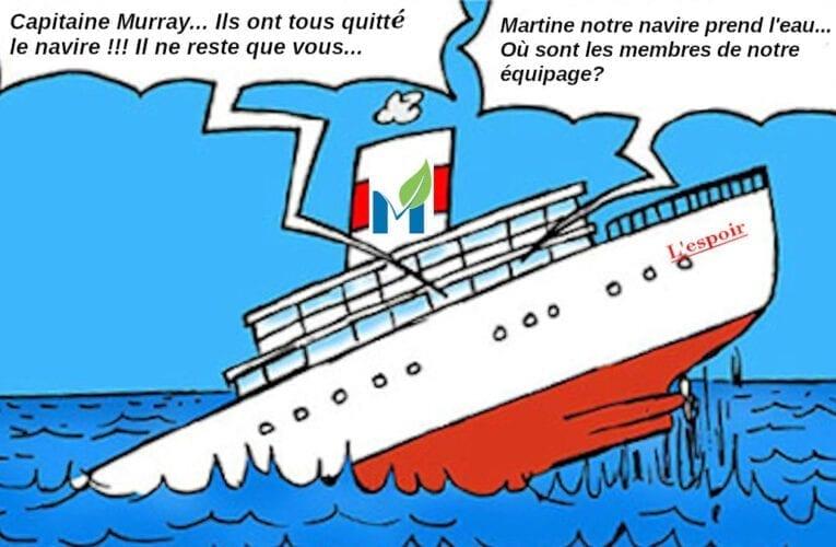 La fin du Parti montarvillois?  Entrevue avec Martine Bousquet, présidente du parti.