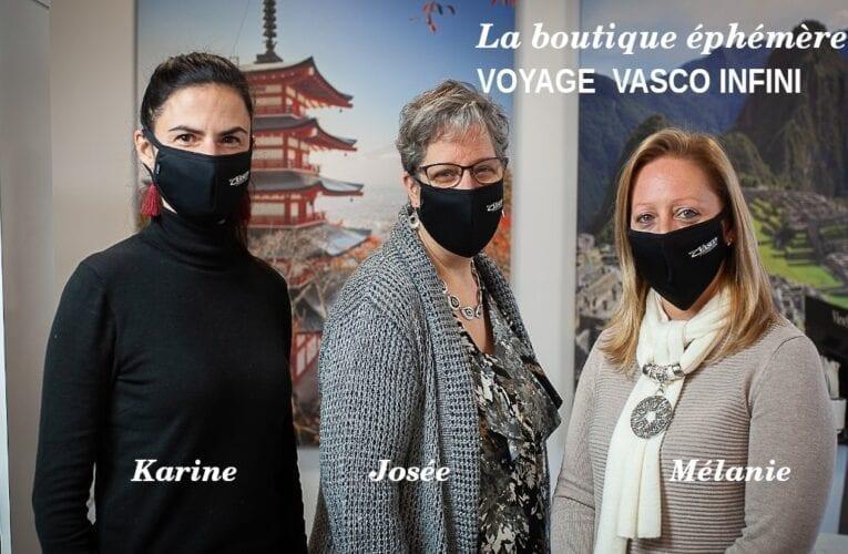 Parlons de… Voyages Vasco et de leur boutique éphémère