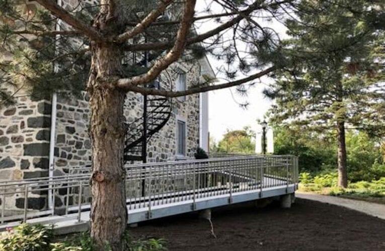 Le Vieux Presbytère est maintenant accessible aux personnes à mobilité restreinte