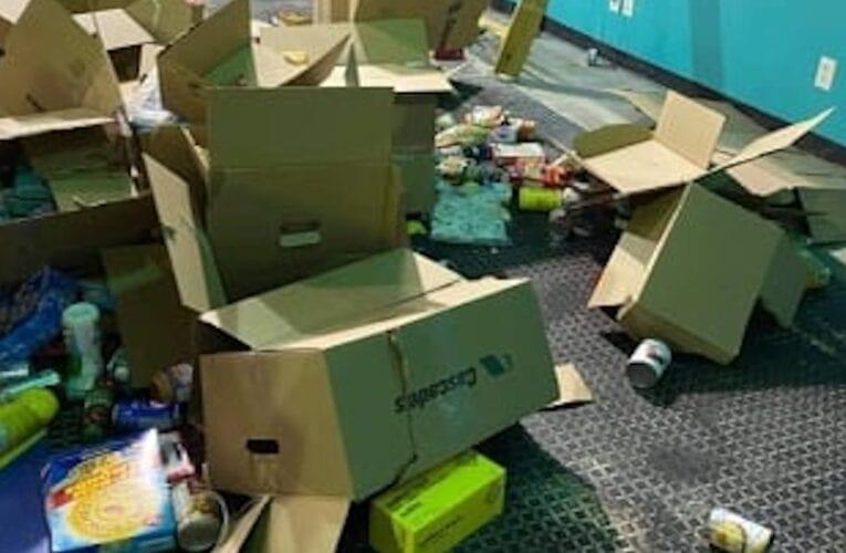 Vol et vandalisme à l'entrepôt de la Grande Guignolée des médias de la Rive-Sud