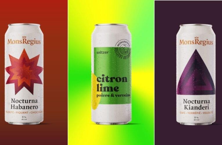Les 3 plus récentes bières de la microbrasserie Montarvilloise MonsRegius