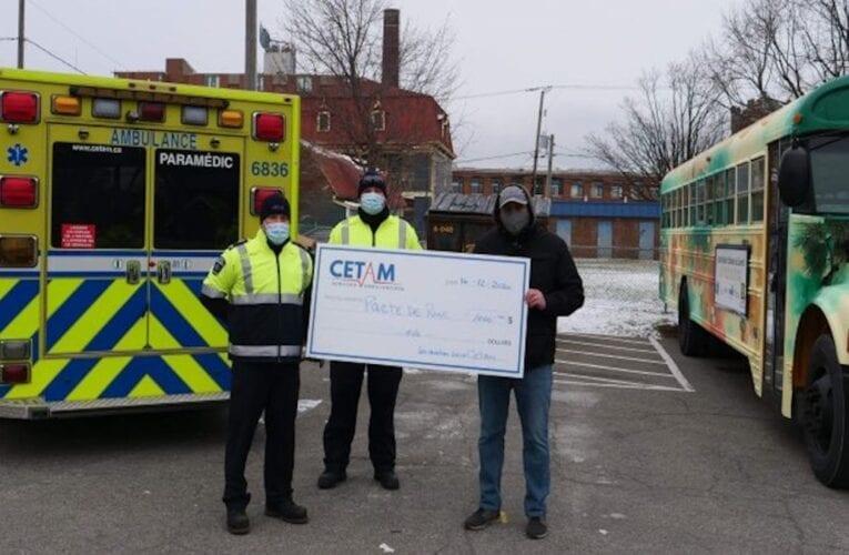 Lancement du projet CETAM (ambulanciers) dans la rue