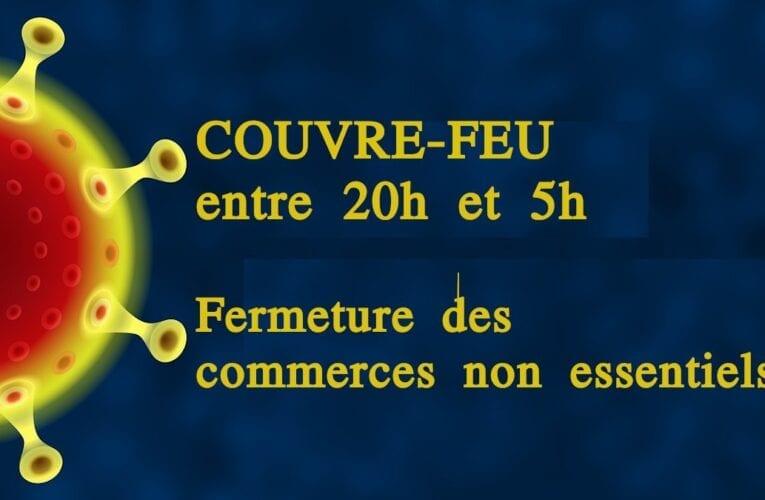 COVID-19: Nouvelles directives du gouvernement et impacts sur les services offerts par Saint-Bruno