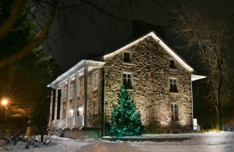 Nouvel éclairage architectural pour le Vieux Presbytère