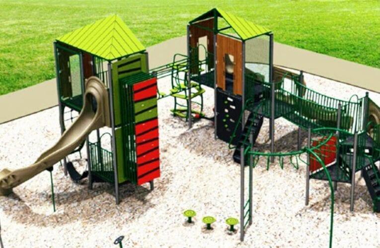 Nouveaux modules de jeux dans des parcs de Saint-Bruno-de-Montarville