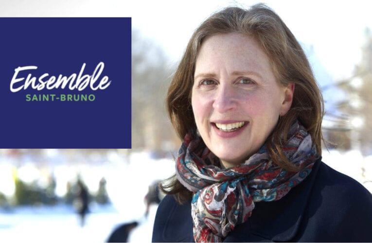 La conseillère Isabelle Bérubé lance un nouveau parti politique Montarvillois «Ensemble Saint-Bruno»