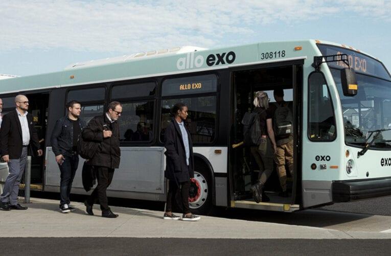 EXO recevra des sommes importantes pour améliorer son offre de service et l'électrification des transports collectifs