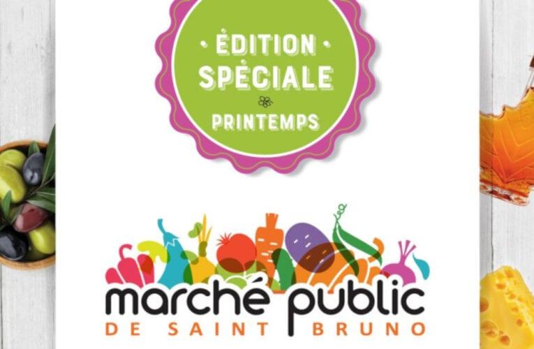 Marché public de Saint-Bruno: Édition spéciale du printemps