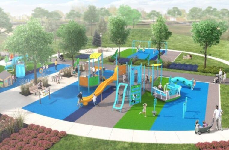 Nouveaux modules de jeux adaptés au parc Albert-Schweitzer de Saint-Bruno-de-Montarville