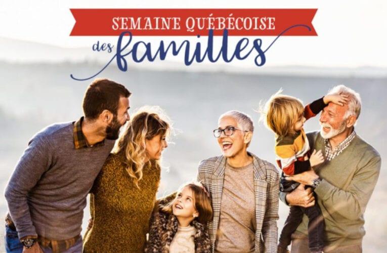 Semaine québécoise des familles à Saint-Bruno