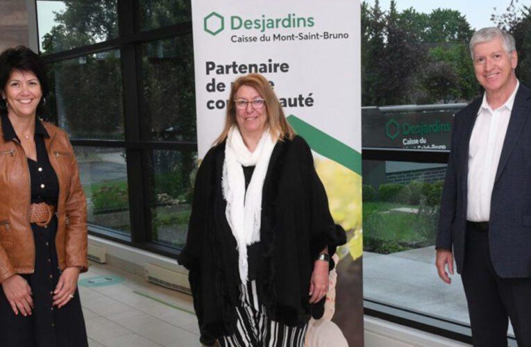 La Caisse Desjardins du Mont-Saint-Bruno offre une aide financière à la Ville pour l'embauche d'un travailleur de milieu.